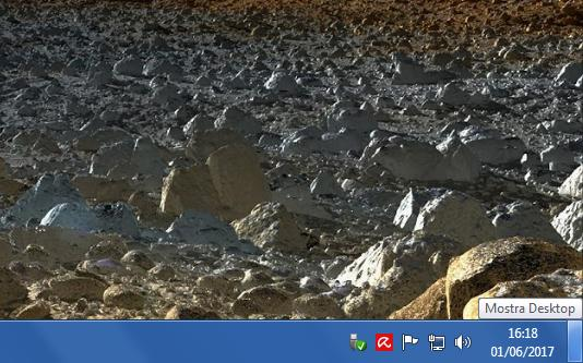 Pulsante Mostra Desktop Windows PC