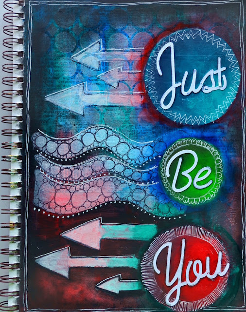 Just Be You - Art Journal