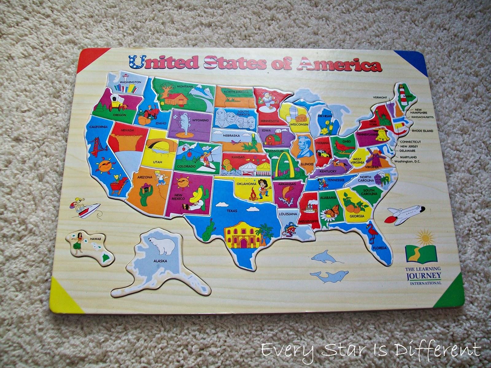 United States of America Puzzle