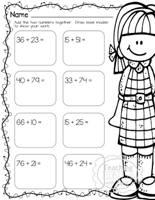 Base Ten Model Worksheets