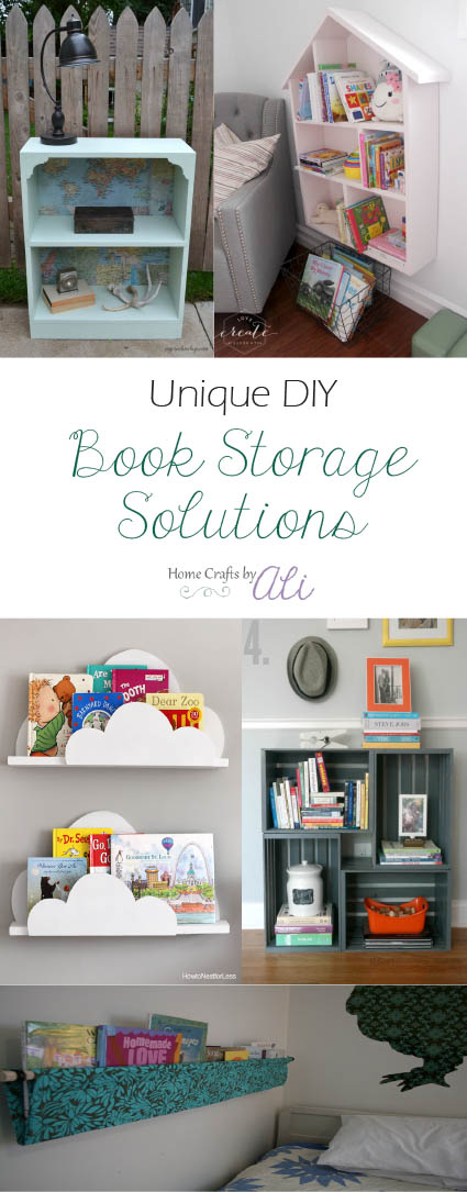 unique diy book storage ideas bookshelf makeovers or make your own