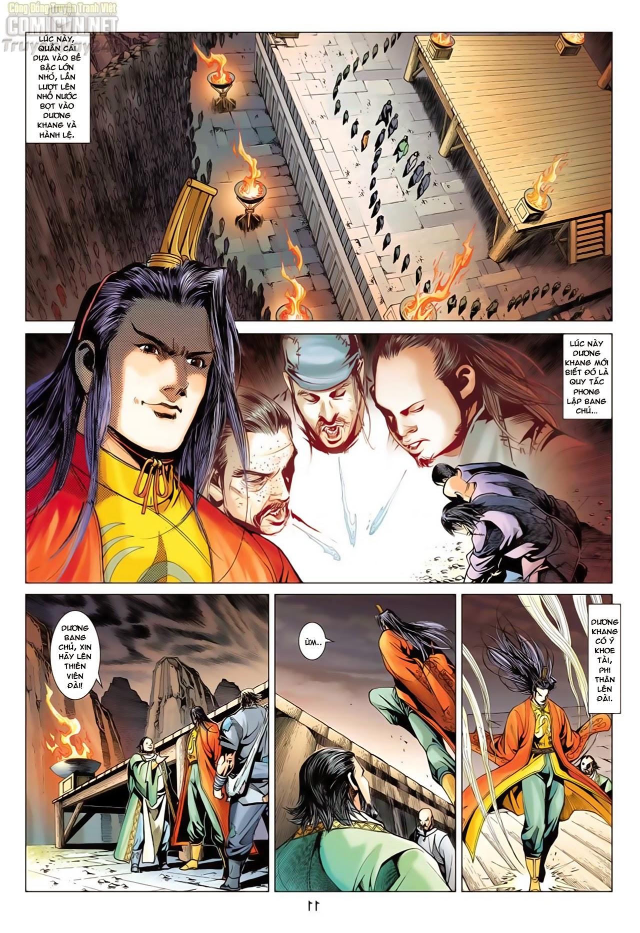 Anh Hùng Xạ Điêu anh hùng xạ đêu chap 66: nhạc châu đại hội trang 11