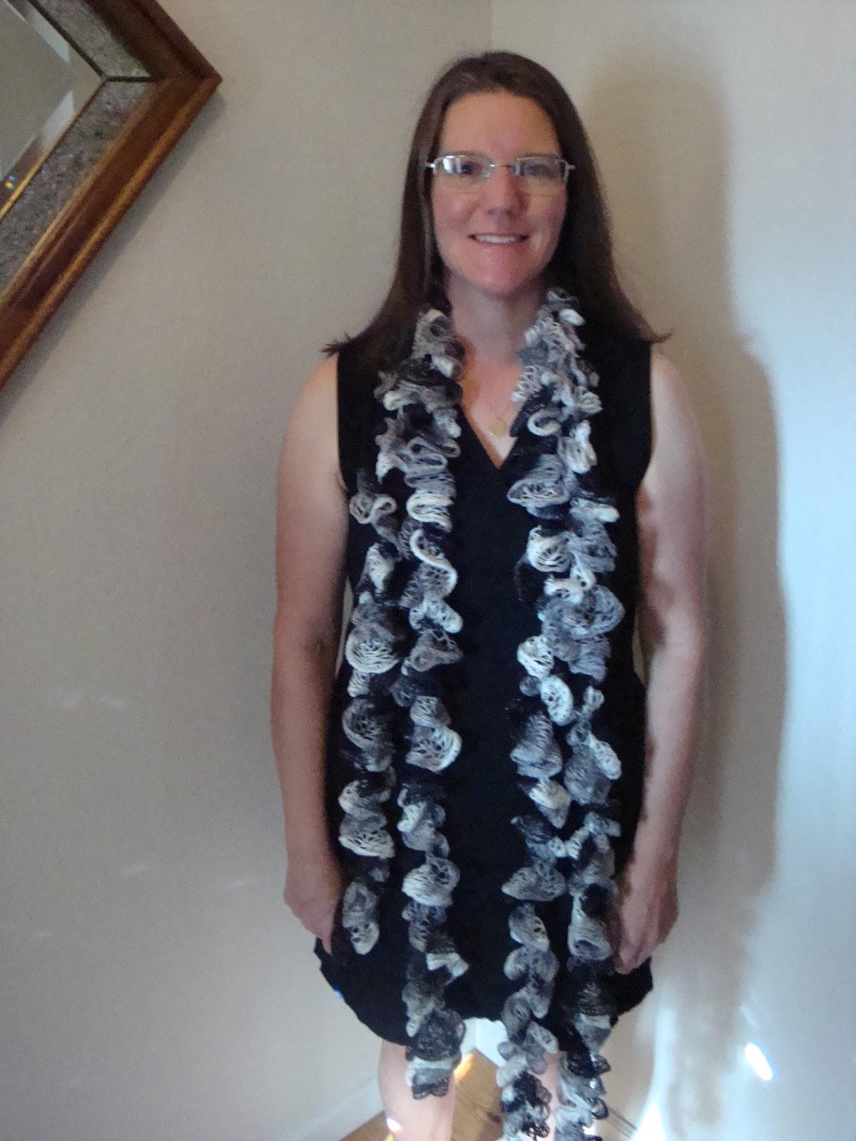 Kim's Knitting Korner: Sashay Scarves