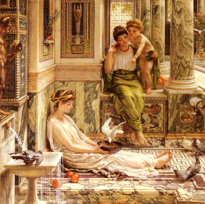 Sir Edward John Poynter 1836-1919 | British Classical pintor
