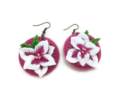 https://www.etsy.com/listing/292875691/magenta-crochet-hoop-earrings-with-lily