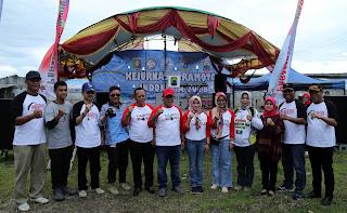 Pertama Di Provinsi Lampung, Nanang Buka Kejurnas Paramotor Di Pantai Kedu Warna Kalianda