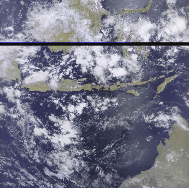 METEOR-M2  LRPT IMAGE - Click for Larger !