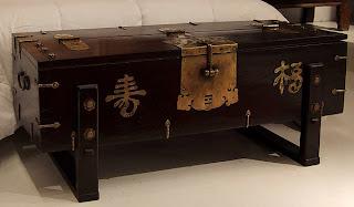 Diseño de mueble con estilo asiático