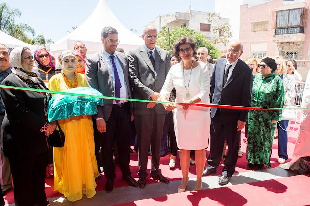 Le réseau des femmes artisanes aux couleurs africaines Sous Le Haut Patronage de Sa Majesté le Roi Mohammed VI