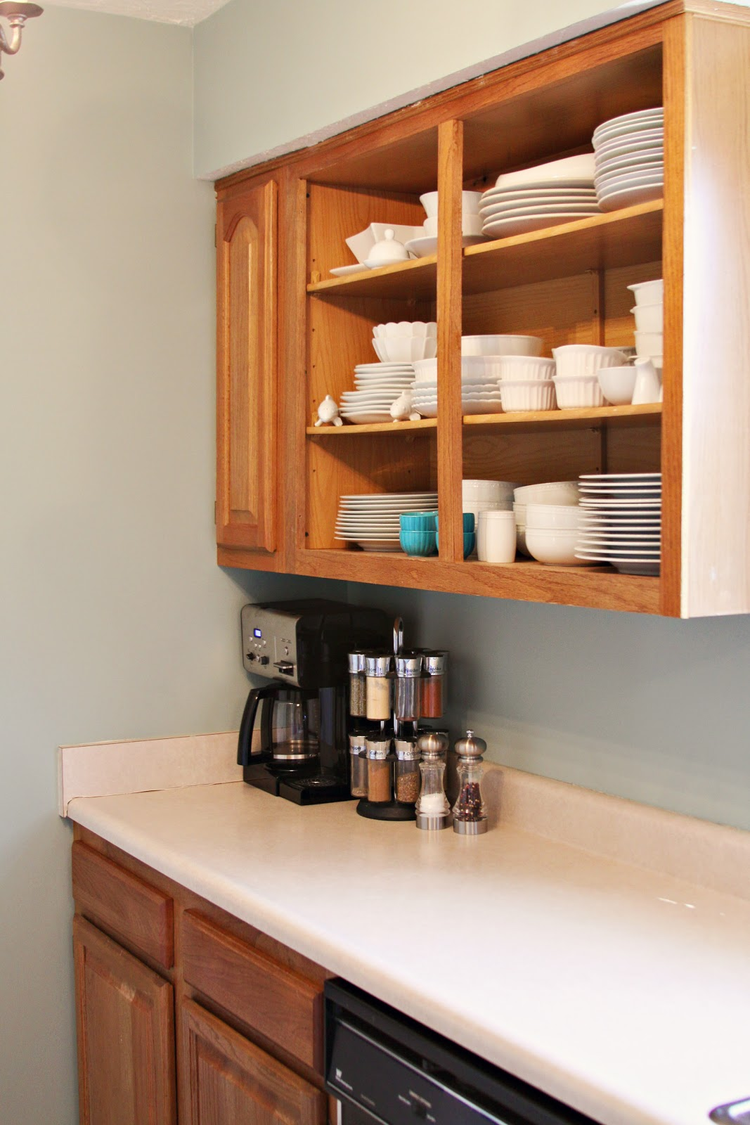 The Benefits Of Open Shelving In The Kitchen: Casa De Luna Creations: Open Shelving Cabinets