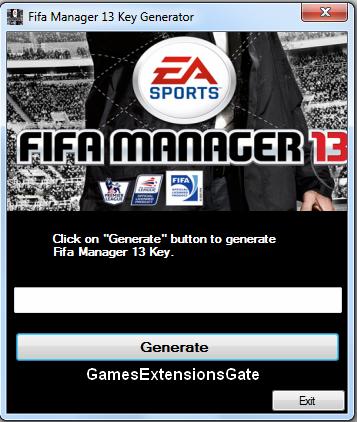 Gamesextensionsgate Fifa Manager 13 Activation Key Keygen