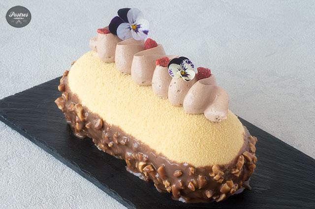 Tarta de Mousse de Cacahuete y Chocolate