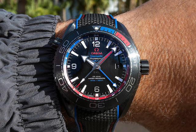 "Omega Seamaster Plante Ocean Etnz ""Deep Black"" Master Chronometer"