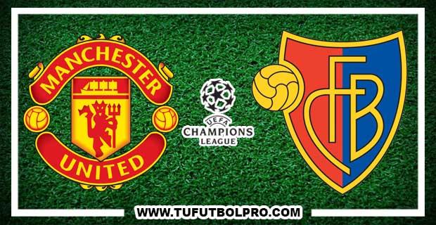 Ver Manchester United vs Basel EN VIVO Por Internet Hoy 12 de Septiembre 2017