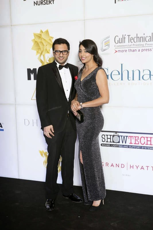 Adel Sajan and Sana Khan, Masala! Awards 2014 Photo Gallery