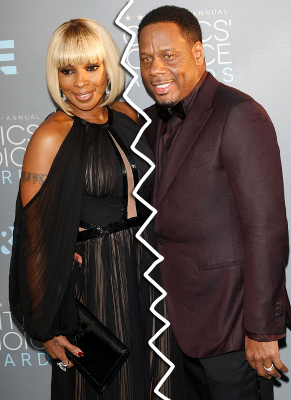Image result for Mary J. Blige and Martin 'Kendu' Isaacs