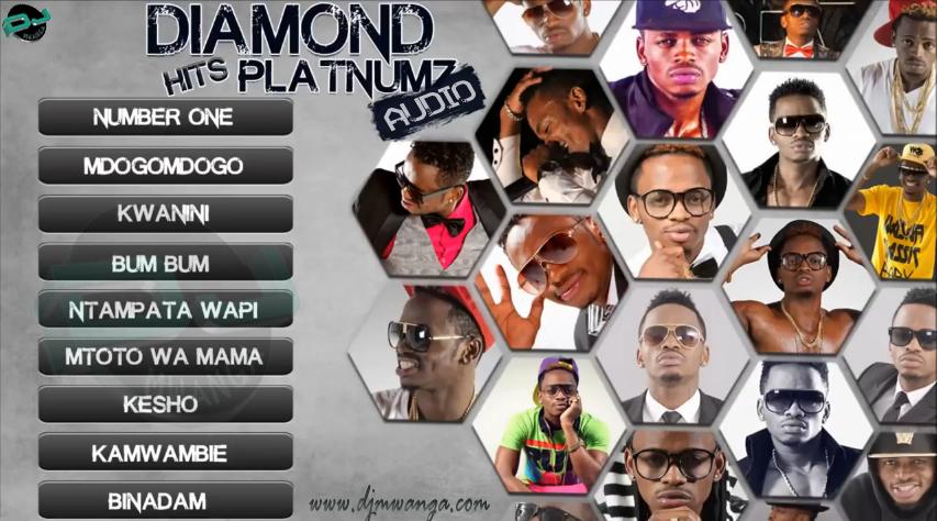 AUDIO | Diamond Platnumz Hits Songs | Download - DJ Mwanga