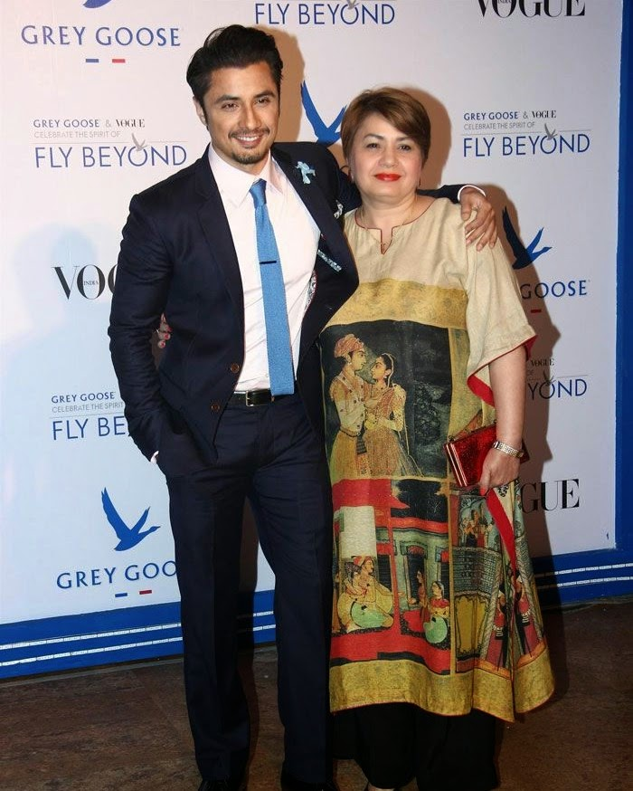 Ali Jafar, Pics from Red Carpet of Grey Goose & Vogue's Fly Beyond Awards 2014
