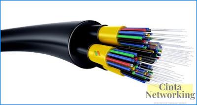 Pegertian Kabel Fiber Optik Beserta Fungsi, Jenis, Cara Kerja, Komponen, Kelebiahan Dan Kekurannya