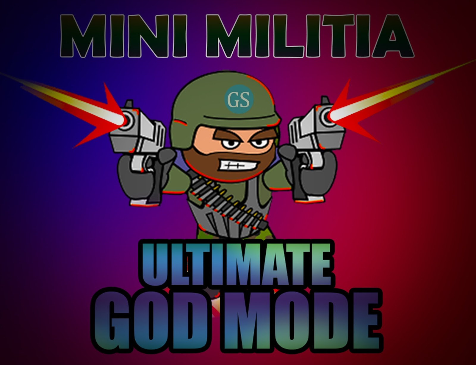 Image result for mini militia god mod