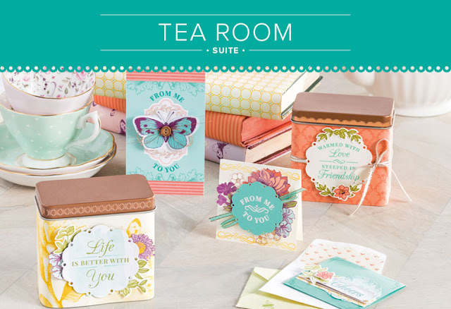 Know someone who loves vintage? Then why not make them something with the gorgeously vintage Tea Room Product Suite. See all the products in the suite here - http://bit.ly/tearoomsuite
