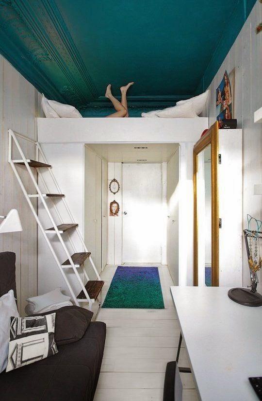 Wall Beds Ecuador: 30 Fotos de decoración de dormitorios pequeños ...