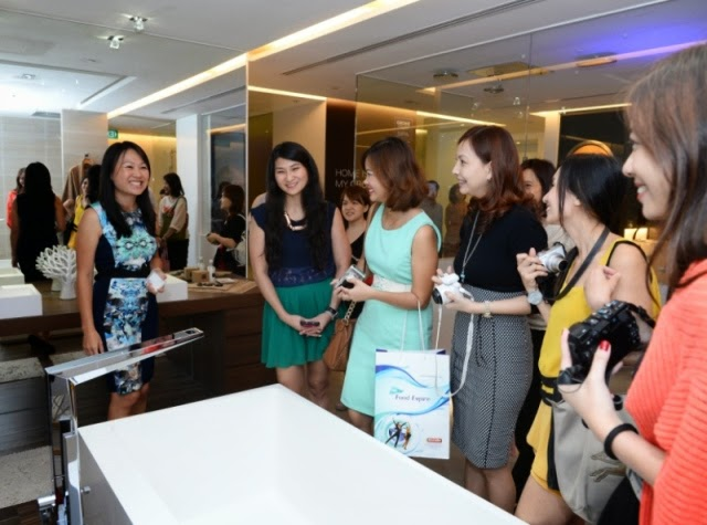 grohe live center singapore bloggers event