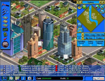 Capitalism II PC Game