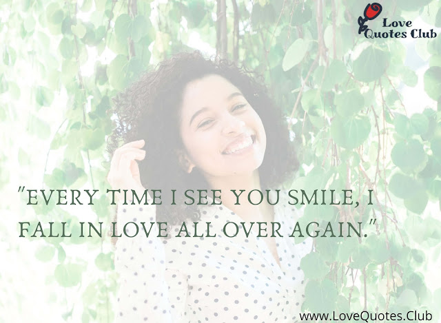 quotes about smile and love