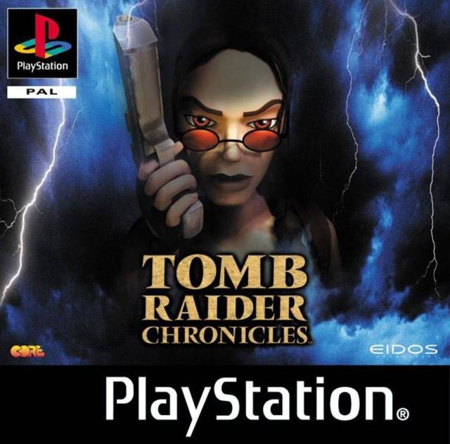 Tomb Raider Chronicles - PSX - Portada
