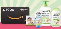 Logo ''Caccia al premio'': vinci 25 kit di prodotti Corine de Farme e buono Amazon da 1.000€