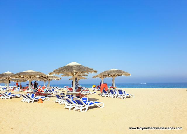 beach in Fujairah Rotana Resort