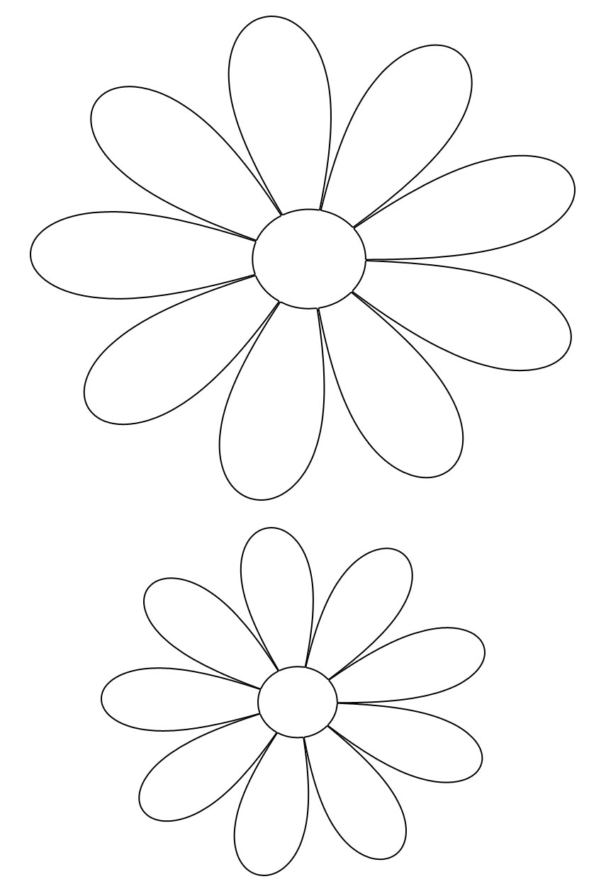 Stencil Fiori Da Stampare E Ritagliare Excellent Download By Tablet