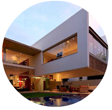 Laje em balanço : Uma Arquitetura Moderna