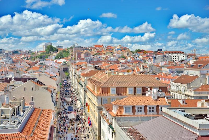 Braixa Lizbona Rua Augusta
