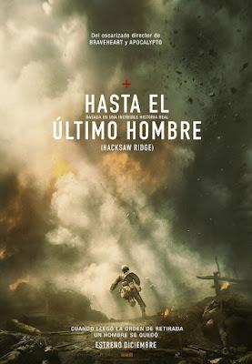 Póster en español de 'Hasta el último hombre'