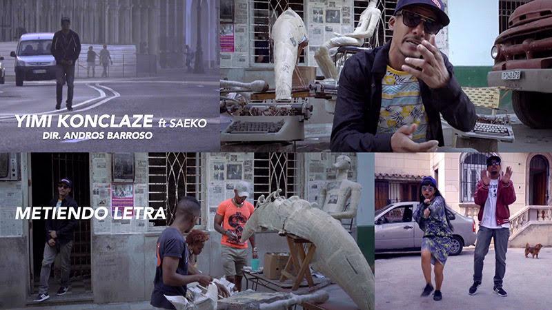 Yimi Konclaze y Saeko - ¨Metiendo Letra¨ - Videoclip - Dirección: Andros Barroso. Portal Del Vídeo Clip Cubano
