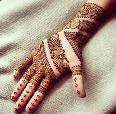 Top Ten Best Arabic Henna Designs New Fashion Styles