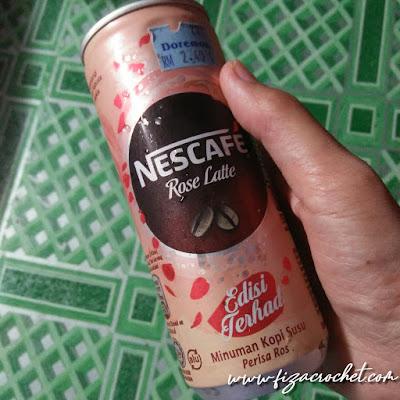 Pendapat peribadi tentang nescafe rose latte edisi terhad