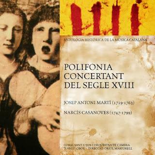 Josep Antoni Martí (1719-1763) - Polifonia Concertant Del Segle XVIII