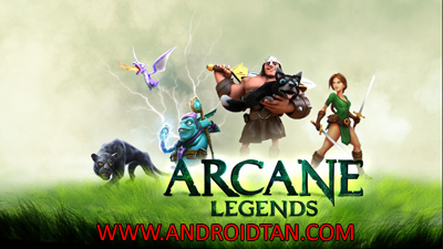 Download Arcane Legends Mod Apk v1.5.8.1 (Unlimited Money) Android Terbaru 2017