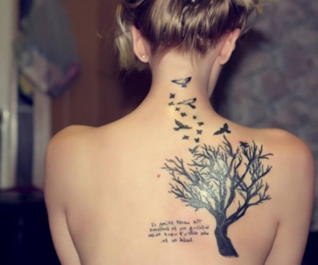 Tatuajes En La Espalda Mujeres