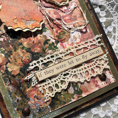Tim Holtz Sizzix Tattered Butterfly Distress Oxide Sprays Alcohol Pearls Tutorial by Sara Emily Barker https://frillyandfunkie.blogspot.com/2019/03/saturday-showcase-tim-holtz-tattered.html 10