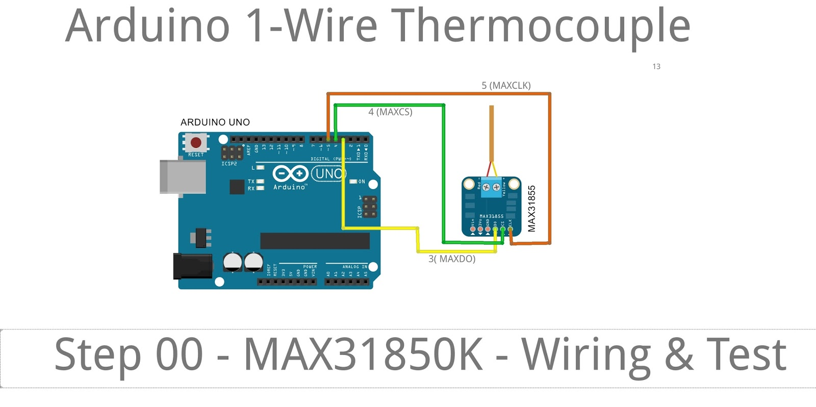 hight resolution of max31855 is an spi interface thermocouple amplifier pinout do 3 ckl 4 cs 5 3v3 gnd here is the schematic