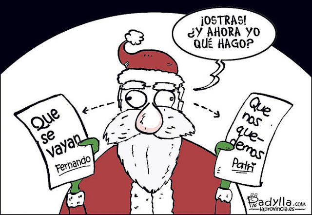 Humor en cápsulas para hoy lunes, 19 de diciembre de 2016