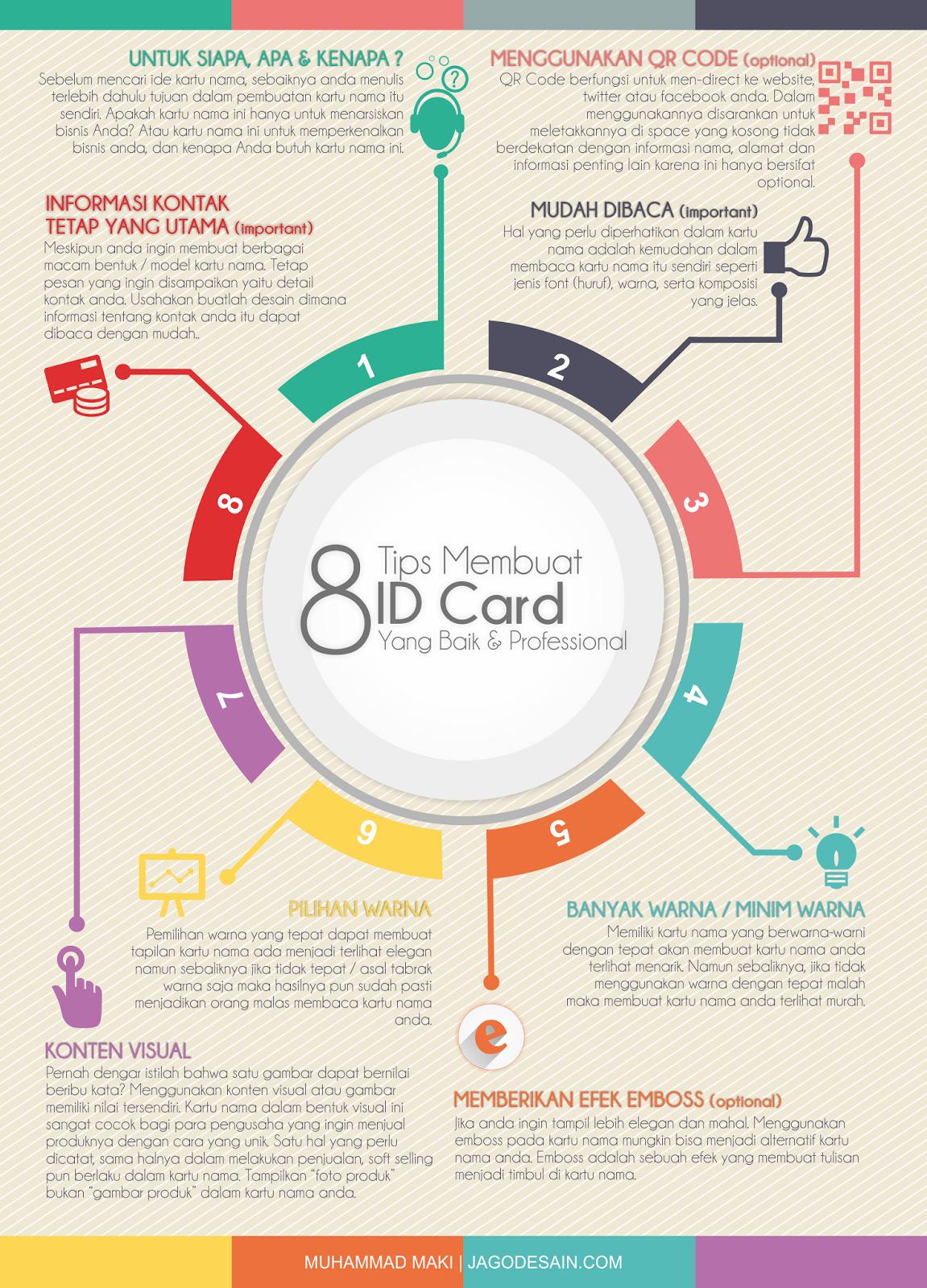 Tips Membuat Kartu Nama ID Card Professional