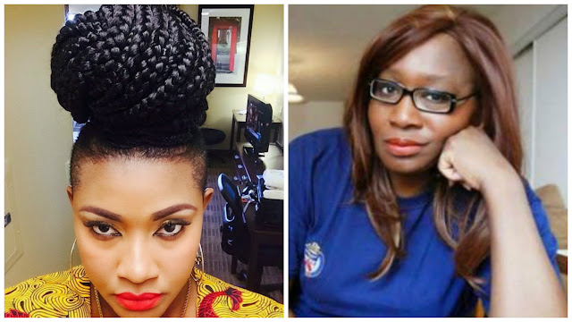 Image result for images of Angela okorie and kemi olunloyo
