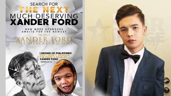 "Marlou Arizala suspended, management now searching for the new ""Xander Ford"""