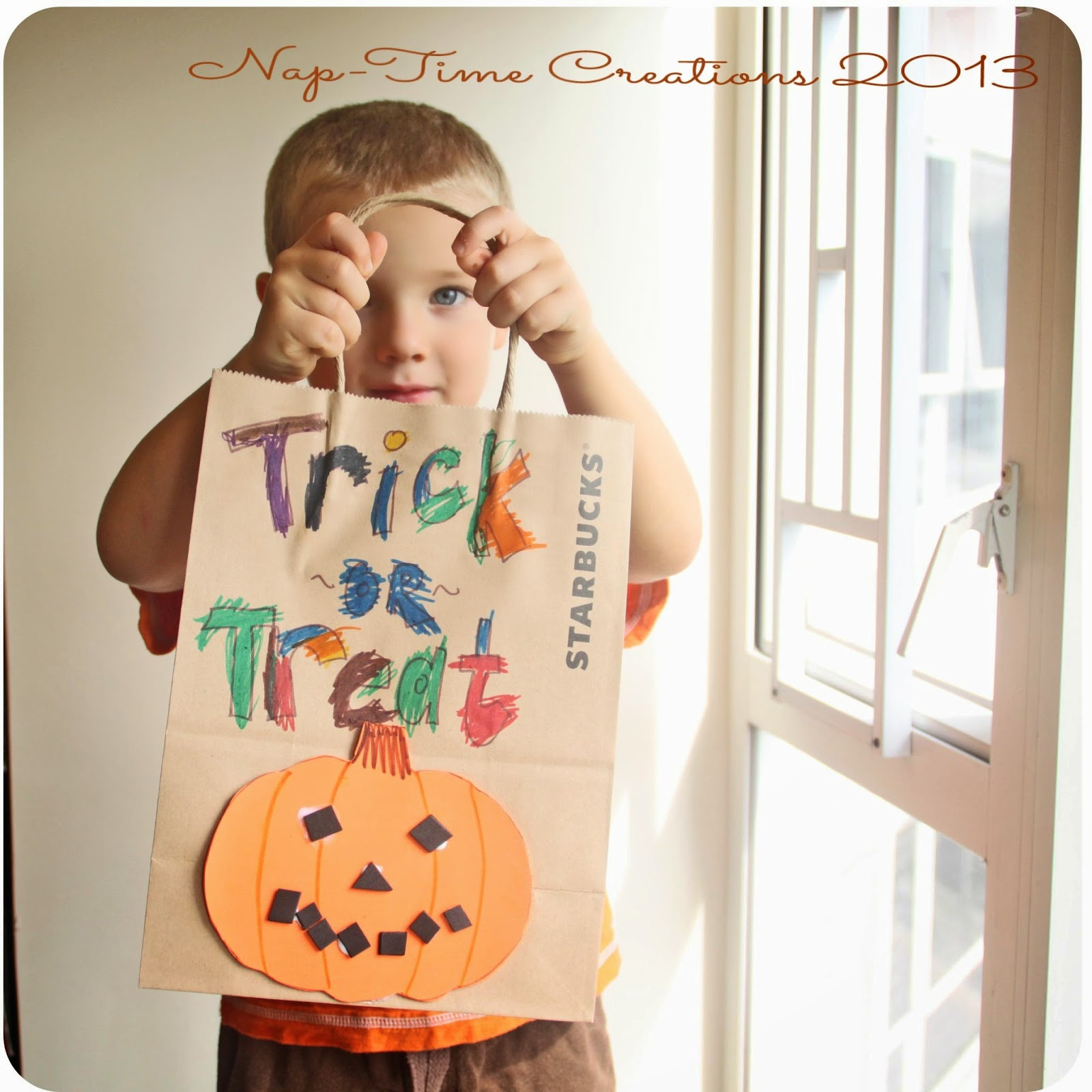 Diy Halloween Treat Bags Easy Kids Craft
