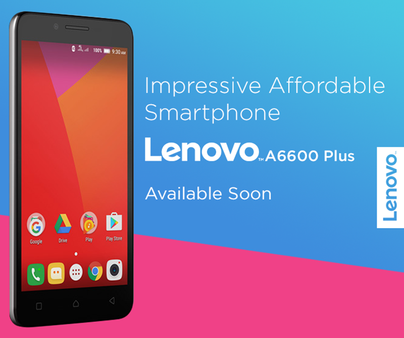 Lenovo A6600 Plus To Arrive In PH Soon!